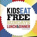 SUNDAY – KIDS EAT FREE