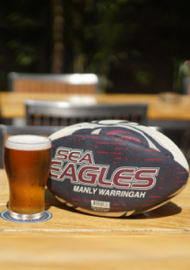 Manly Sea Eagles at Brookvale Oval!
